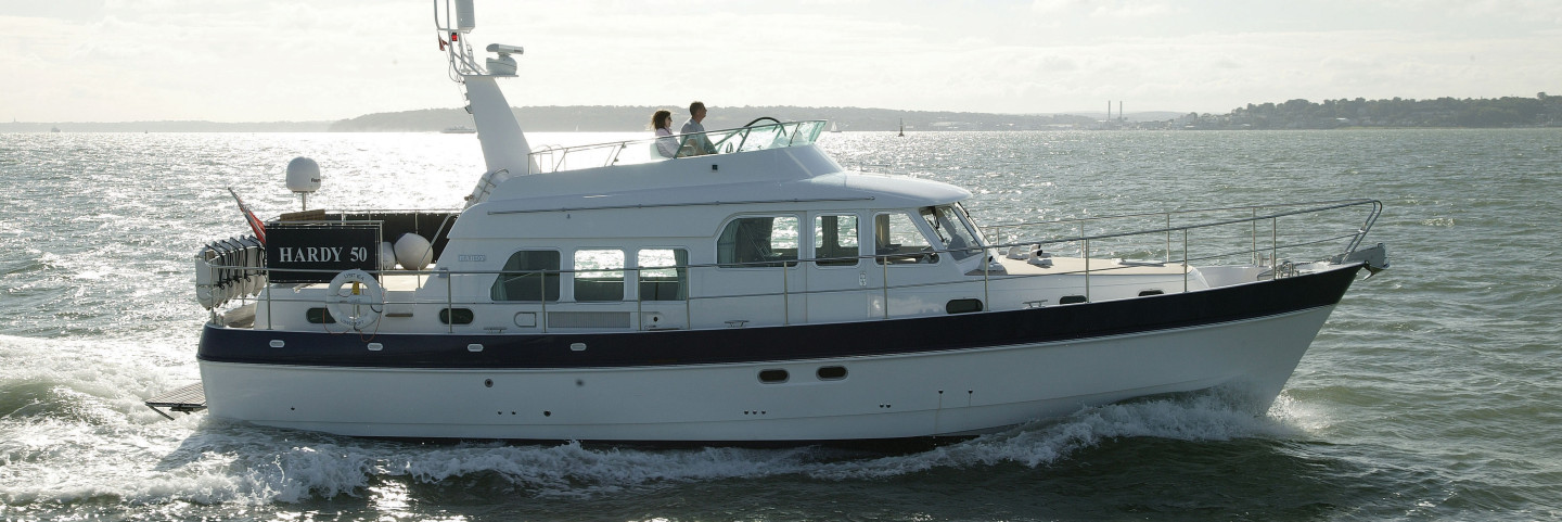 Hardy 50 sea going motor yacht