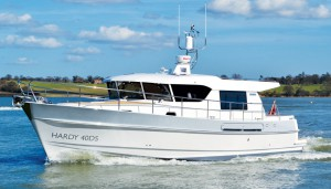 Hardy 42 ex-demonstrator for sale