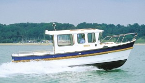 Shown here is the extended wheelhouse version of the 24