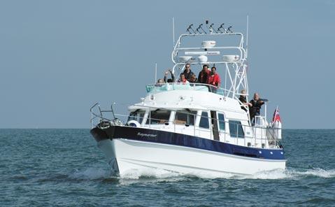 Hardy 42 Raymarine demo yacht