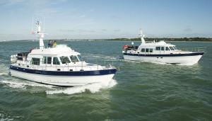 Hardy boats cruising