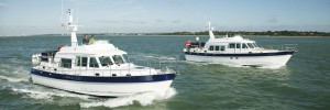 The Hardy 42 and Hardy 50 cruising in company