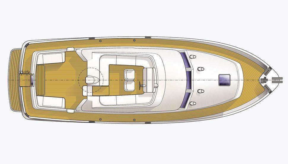 Hardy 42 deck plan