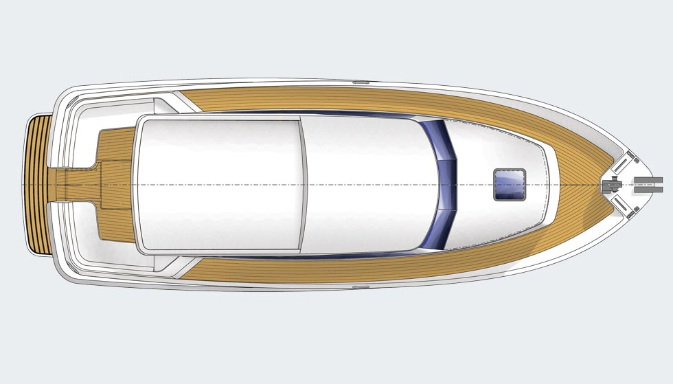 Hardy 36DS deck plan