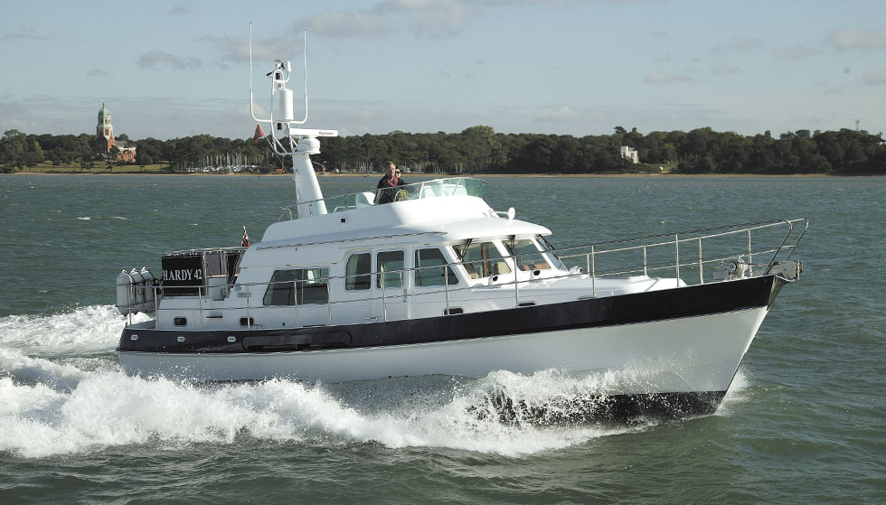Hardy 42 sea going boat
