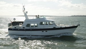 The Hardy 50, a sea going yacht with classic lines