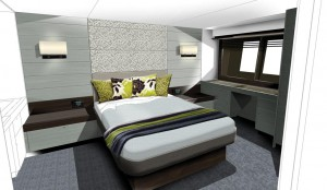 Hardy 62 stateroom