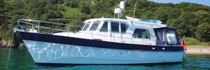 Hardy 36DS motor boat