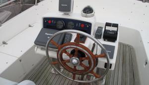 Hardy Commodore 42 wheel