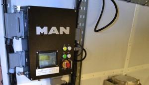 Hardy 65 port engine control panel