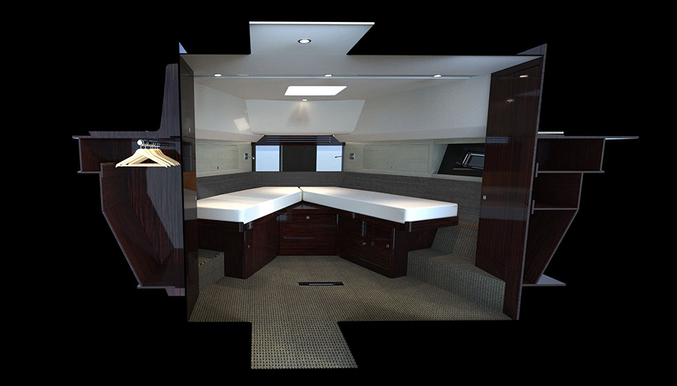 Hardy 65 rendering of guest vip cabin